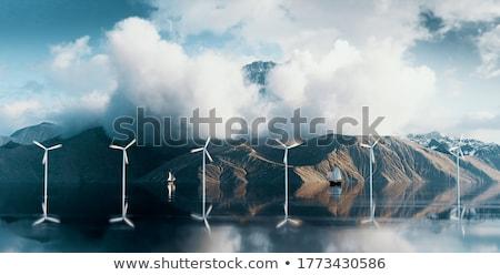 Coastal peaks Stock photo © Harlekino