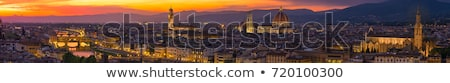 Florence at dusk Stock photo © joyr