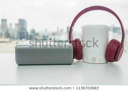 Stock fotó: Speakers And Headphones