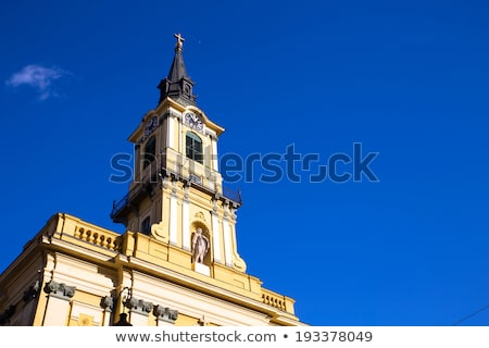 Theresa City Parish Church in Budapest Stock photo © Spectral