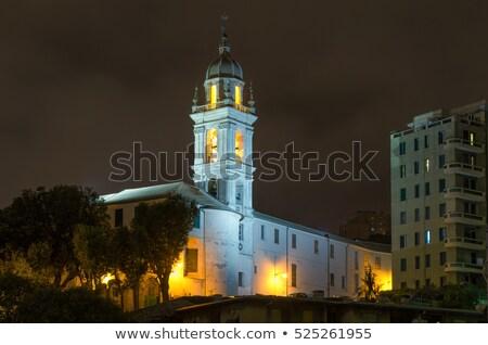 Церкви вечер улице лет синий путешествия Сток-фото © Antonio-S