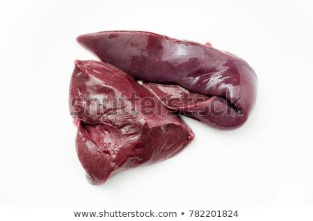 Beef liver Stock photo © bdspn