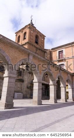 Cityscape Espanha paredes cidade cristãos Foto stock © billperry