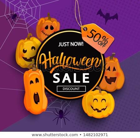 hile · halloween · poster · dizayn - stok fotoğraf © carodi