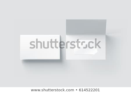 クレジットカード スタック プラスチック ビジネス 背景 白 ストックフォト © EvgenyBashta