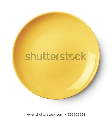 Shot of plates. Stock photo © almir1968