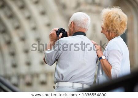 homem · fotos · castelo · seis · câmera - foto stock © dmitroza