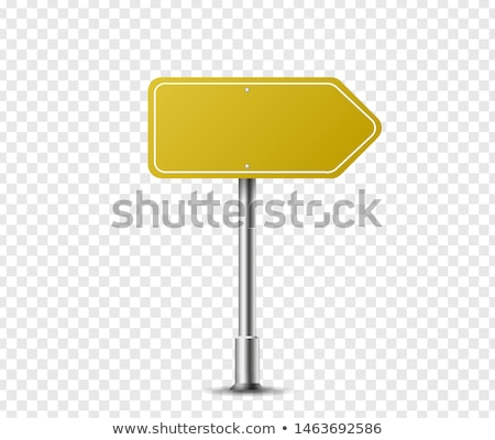Steel arrow signboards Stock photo © bluering