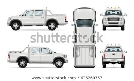 A pickup vehicle Stock photo © bluering