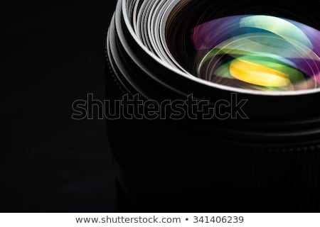 professional modern dslr camera llense ow key image   modern dsl stock photo © lightpoet
