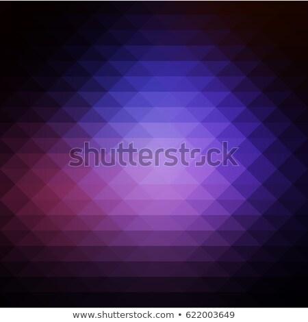 Lila barna fekete sorok tér absztrakt Stock fotó © TasiPas