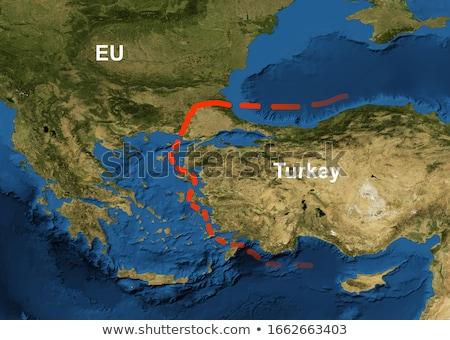 greece turkey space background stock photo © ixstudio