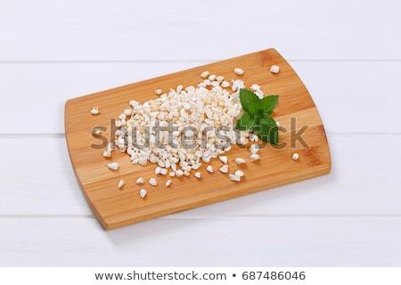 pile of puffed buckwheat Stock photo © Digifoodstock