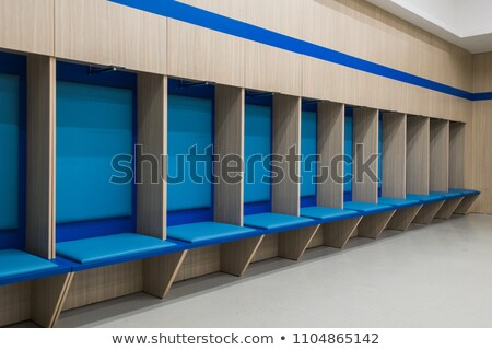 Empty changing room of football Stock photo © wavebreak_media