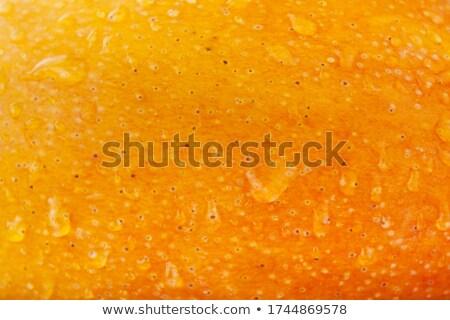 Mango detail vers heerlijk vruchten druppels Stockfoto © fyletto