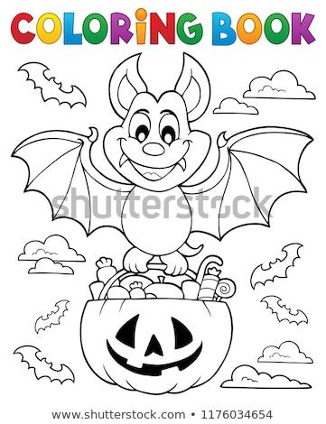 Halloween bat theme image 1 Stock photo © clairev