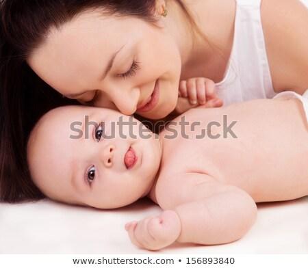 Feliz meses edad bebé Foto stock © Lopolo