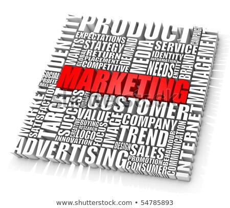 gruppo · marketing · parole · business · concetti · computer - foto d'archivio © dacasdo
