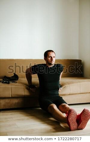 maschile · african · uomo · ritratto · isolato · bianco - foto d'archivio © stockyimages