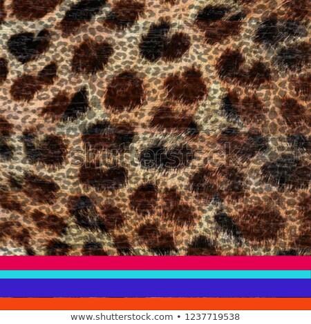 Blue night camouflage seamless pattern Stock photo © lkeskinen