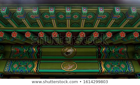 buddhism temple ornament Stock photo © smithore