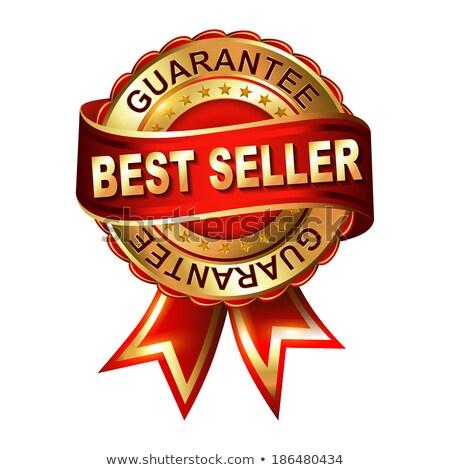best seller label with percentage symbol Stock photo © marinini