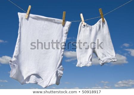 Underwear Hanging on a Clothesline Stock photo © RuslanOmega