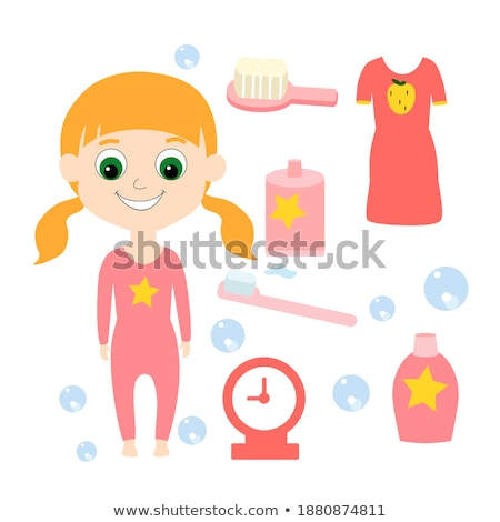 the red nightgown Stock photo © carlodapino