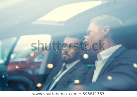 Two businessman by a car. Stock photo © photography33