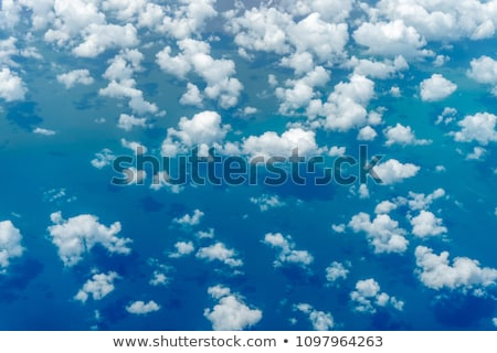 Clouds from top Stock photo © Aikon