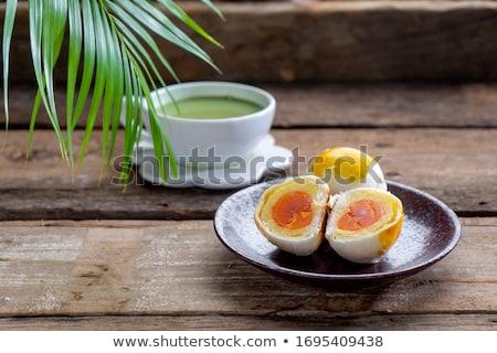 yumurta · beyaz · fincan · doğa · tavuk - stok fotoğraf © grazvydas
