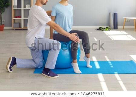 Stok fotoğraf: Sırt · ağrısı · tedavi · sırt · ağrısı · simge · insan · vücut