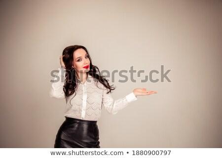 美しい · 女性実業家 · 手のひら · 向い · アップ · セクシー - ストックフォト © wavebreak_media