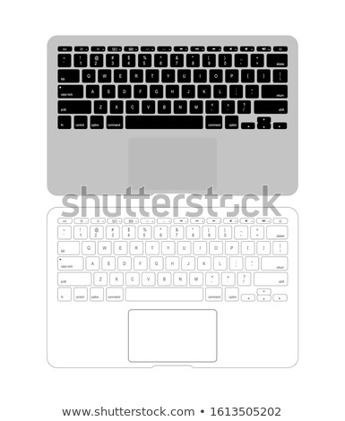 Standart digital keypad Stock photo © vavlt