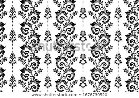 vintage baroque style ornament design stock photo © adrian_n