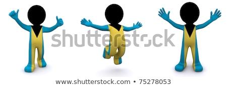 homem · pólo · 3d · render · esportes - foto stock © kirill_m