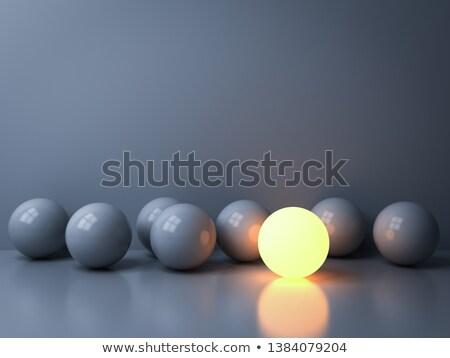 luminous sphere Stock photo © silense