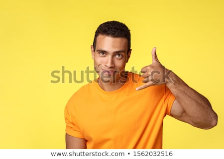 Jóképű férfi elcsábít nő szőke nő férfi szexi Stock fotó © konradbak