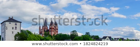 famous gothic dome in Limburg Stock photo © meinzahn