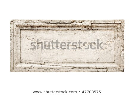 Stone Carving With Crack Stock fotó © italianestro