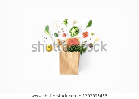 Paper bags with bio  Stock photo © Ustofre9