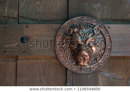 Shield meeting and door bell Stock photo © Ustofre9