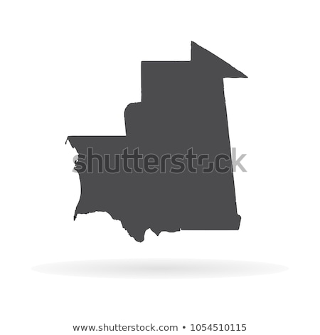 map of Mauritania Stock photo © mayboro1964