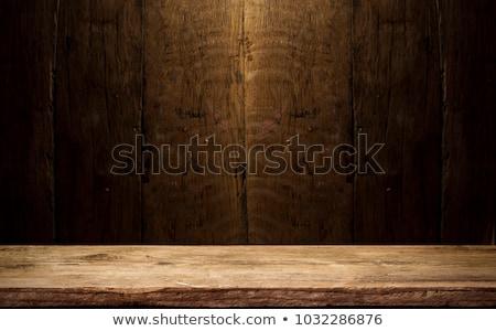 Beer on wooden background Stock photo © Moradoheath