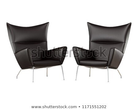 two armchairs isolated stock photo © ozaiachin