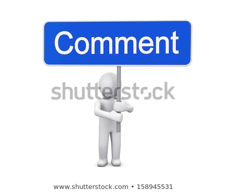 3d man holding yes sign board concept stock photo © nithin_abraham