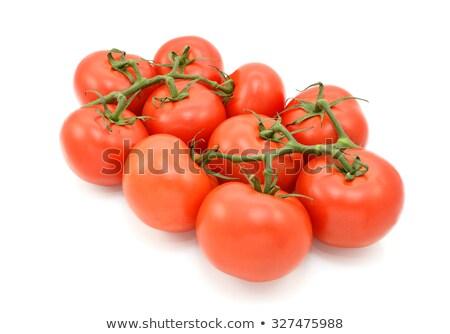 Ten red tomatoes on the vine Stock photo © sarahdoow