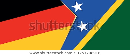 Germany and Solomon Islands Flags  Stock photo © Istanbul2009