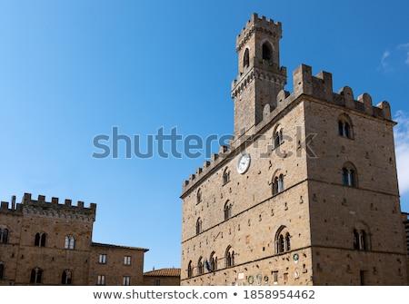 Palazzo dei Priori in Volterra Stock photo © Digifoodstock