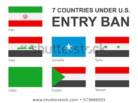 USA barred citizens of seven Muslim-majority countries from entering USA Stock photo © danilo_vuletic
